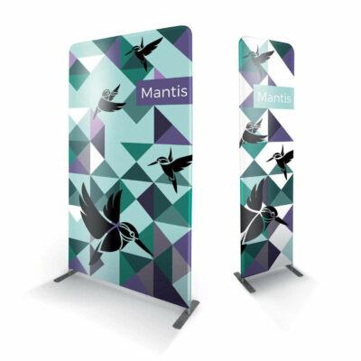 Mantis skærmvæg med print